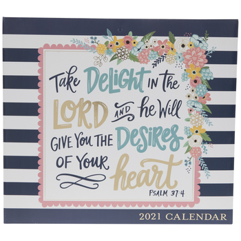 Delight In The Lord Calendar