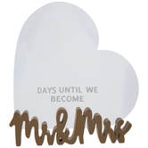 Mr & Mrs Heart Countdown