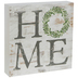 Distressed Wreath Home Wood Decor