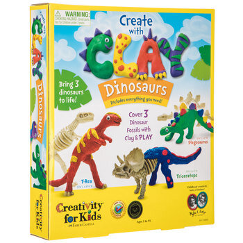 Clay Dinosaurs Kit