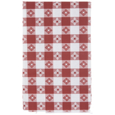 Gingham Flannel Back Tablecloth