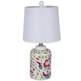 Floral Vines Lamp