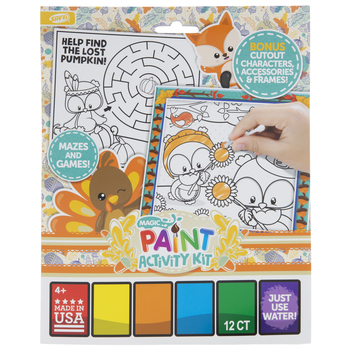 Fall Paint Activity Booklet