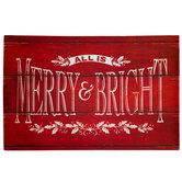All Is Merry & Bright Doormat