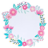 Floral Wreath Tags