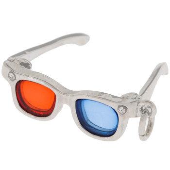 3D Glasses Charm
