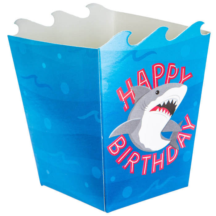 Shark party favor boxes candy box shark Birthday party personalized shark favor box Gift box Shark Party favors custom