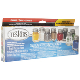 All Purpose Gloss Enamel Paint - 9 Piece Set