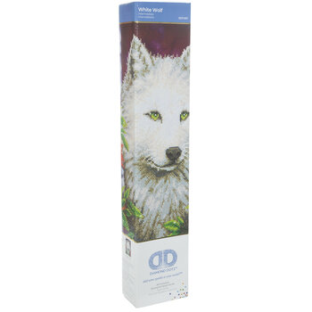 White Wolf Diamond Art Intermediate Kit