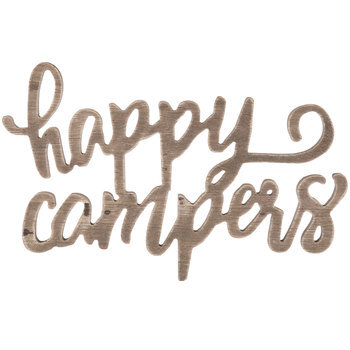 Happy Campers Wood Wall Decor