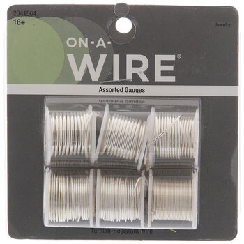 Silver Assorted Tarnish-Resistant Wire