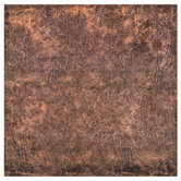 "Aged Leather Scrapbook Paper - 12"" x 12"""