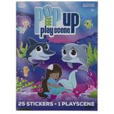 Mermaid Sticker Play Scene