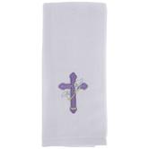 Purple Cross Kitchen Towel