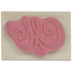 Swirling Flourish Rubber Stamp