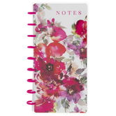 Floral Happy Planner Half Sheet Notebook