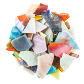 Stained Glass Mosaic Pieces