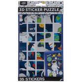 3D Sticker Puzzle