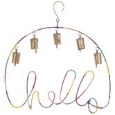 Bright Hello Bell Wind Chime
