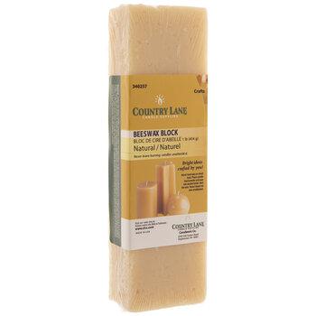 Natural Beeswax Block