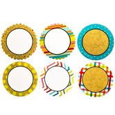 Too Cute Patterned Circle Paper Cutouts