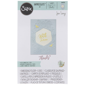 With Love Floral Hexagon Dies & Embossing Folder