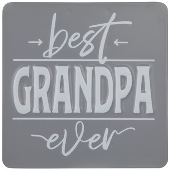Best Grandpa Ever Metal Decor