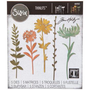Wildflower Stems Thinlits Dies