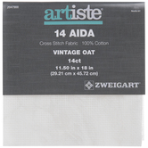 Vintage Oat 14-Count Aida Cross Stitch Fabric