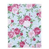 "Watercolor Floral Scrapbook Paper - 8 1/2"" x 11"""