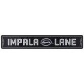 Impala Lane Metal Sign