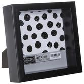 "Black Flat Box Frame - 5"" x 5"""