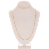 """Oval Link Chain Necklace - 30"""""""