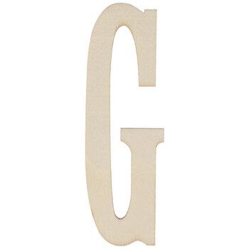 """Vintage Sign Wood Letters G - 4"""""""