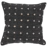Black & White Crosses Pillow Cover
