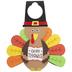 Turkey Foam Door Hanger Craft Kit