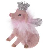 Princess Pig Ornament