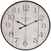 Antique 1870 Wood Wall Clock