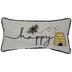 Bee Happy Pillow