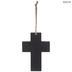 1 Corinthians 16:14 Floral Wood Wall Cross