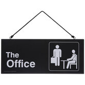 The Office Reversible Wood Wall Decor