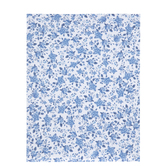 "Navy & White Floral Scrapbook Paper - 8 1/2"" x 11"""