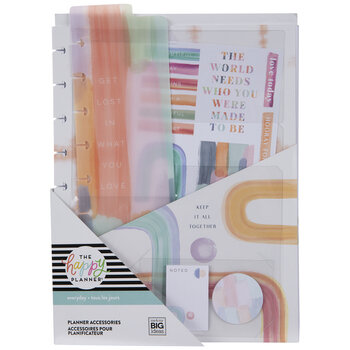 Painterly Pastels Classic Happy Planner Accessories