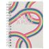 Strike A Pose Rainbow Mini Notebook