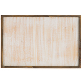 Whitewash Wood Wall Decor - Medium