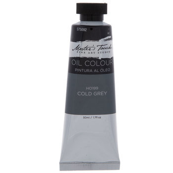 Cold Grey Master's Touch Oil Paint - 1.7 Ounce