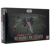 Red Squadron X-Wing Starfighter Model Kits