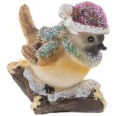Green Scarf Bird Ornament