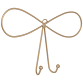 Gold Bow Metal Wall Hook