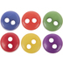 Primary Tiny Round Buttons - 6mm